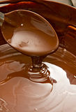 Liquid Chocolate. Stock Photo