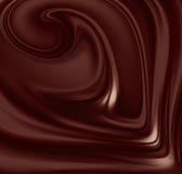 Liquid chocolate Stock Images
