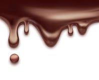 Liquid chocolate Stock Photography