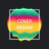 Liquid color gradient covers. Fluid shapes. Logo,posters or any. Liquid color gradient covers. Fluid shapes. Futuristic design for: logo, posters or any branding Stock Photos