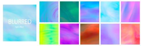 Liquid color splash covers set. Set of modern marble splatters. Design elements for poster, cover, card, brochure, banner . stock illustration
