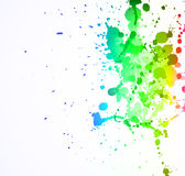 LIquid Colorful Abstract Background Stock Image
