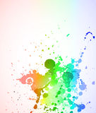 LIquid Colorful Abstract Background Royalty Free Stock Photography