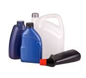 Liquid containers Royalty Free Stock Photo