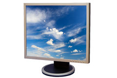 Liquid crystal display Royalty Free Stock Images