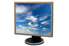 Liquid crystal display Royalty Free Stock Photography