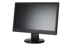 Liquid Crystal Display (LCD) monitor Stock Images