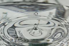 Liquid dollar royalty free stock photography