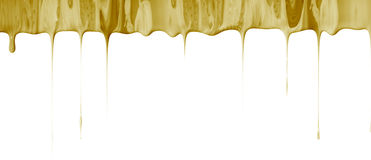 Liquid dripping border Stock Images