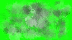 Liquid drop transitions motion graphics package. Animation pack. Three options for liquid transitions, blue, green, and black alpha channel stock illustration