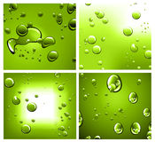 Liquid Drops Background Stock Image