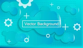 Liquid dynamic background for web sites, landing page or business presentation. stock illustration