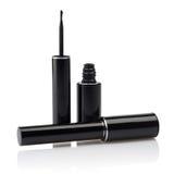 Liquid eyeliner brush royalty free stock images
