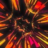 Liquid Glass Explosion Stock Photography