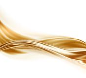 Liquid gold Royalty Free Stock Photos