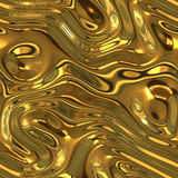 Liquid gold background texture Royalty Free Stock Photo