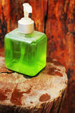 Liquid hand soap. Stock Photos