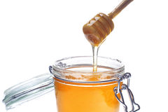 Liquid honey Stock Photo