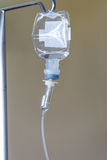 Liquid in infusion set Stock Photography