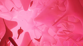 Liquid Lights Pink. Abstract 3d liquid splash colored light background royalty free illustration