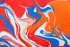 Liquid marbling acrylic paint background. Fluid painting abstract texture stock photos