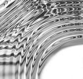 Liquid Metal Curve Stock Photo