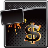 Liquid money advertisment Stock Photography