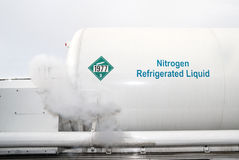 Liquid Nitrogen Royalty Free Stock Images