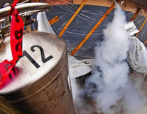 Liquid Nitrogen Tank Stock Images