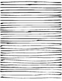Liquid organic black stripe lines pattern over white Stock Photography