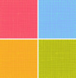 Liquid organic stripe grid pattern in multiple color Royalty Free Stock Photos