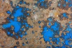 Liquid paint. Drop art background- liquid paint on rusty metal surface Royalty Free Stock Photos