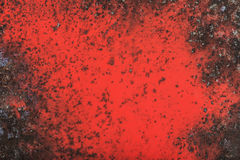 Liquid paint. Drop art background- liquid paint on rusty metal surface Royalty Free Stock Images