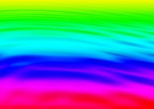 Liquid rainbow with ripples Royalty Free Stock Photography