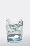 Liquid Relief. Tablets fizzing in water Royalty Free Stock Photo