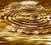 Liquid ripples - background Stock Images