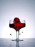 Liquid rose. Shot of splash Royalty Free Stock Images
