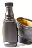 Liquid shoe polish. Royalty Free Stock Photography