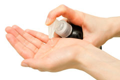 Liquid soap Royalty Free Stock Images