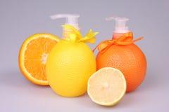 Liquid soap stock image