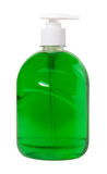Liquid soap in the bottle with a dispenser Royalty Free Stock Photo