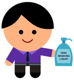 Liquid soap business Royalty Free Stock Photo