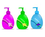 Liquid soap, cdr vector Stock Image