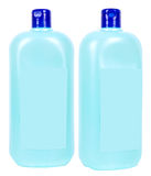 Liquid soap containers Stock Image