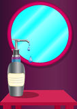 Liquid soap dispenser Stock Images