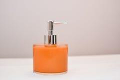 Liquid soap dispenser Stock Photography
