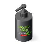 Liquid Soap Isometric Stock Images