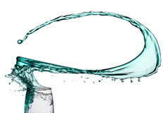 Liquid Spilling. Stock Photography