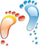 Liquid steps vector illustration