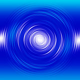 Liquid Swirl. Blue and white liquid swirl effect set on a gradient background vector illustration